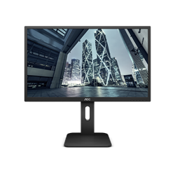 "Imagem de Monitor 18,5"" AOC - 9P1E - HDMI, VGA, Display Port, LED, Widescreen, Ajuste de Altura"