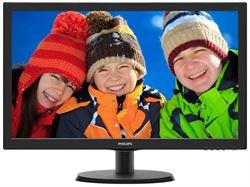 "Imagem de Monitor 21,5"" Philips - 223V5LHSB2 - LCD, HDMI, VGA, Full HD, Widscreen, Preto"