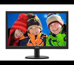"Imagem de Monitor 23,6"" Philips - 243V5QHABA - VGA, DVI, HDMI, LCD, Full HD"