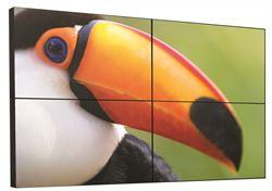 "Imagem de Monitor Profissional 55"" - Christie - FHD552X-B - HDMI, USB, VGA, DisplayPort, Full HD, Borda Ultra Fina, Operação 24/7"