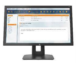 Imagem de Monitor 21,5 HP V22B - VGA, HDMI, LED, Widescreen, Anti-reflexo, Ajuste de altura