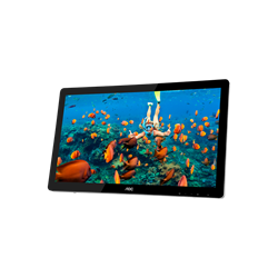 "Imagem de Monitor Touch Screen 21,5"" AOC - E2272PWUT - HDMI, USB, Widescreen, Vesa"