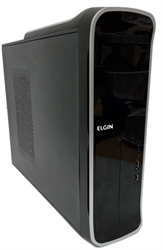 Imagem de Desktop Elgin E3 Slim FIT, Core I3 3,9Ghz, 4GB e HD 500GB