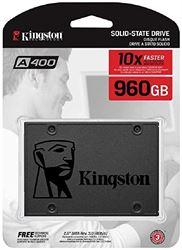 "Imagem de SSD KINGSTON SA400S37/960G - A400 2,5"" SATA 3"