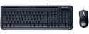 Imagem de Teclado e Mouse Microsoft Wired Desktop 600 - APB-00005 - Multimídia ABNT 2